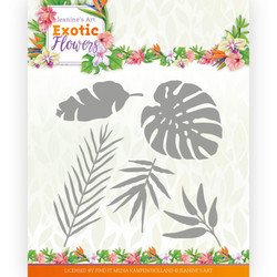 Jeanines Art Exotic Flowers stanssi Exotic Leafs