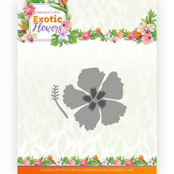 Jeanines Art Exotic Flowers stanssi Exotic Hibiscus