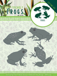 Amy Design Friendly Frogs stanssi Frog