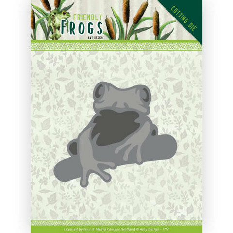 Amy Design Friendly Frogs stanssi Tree Frog