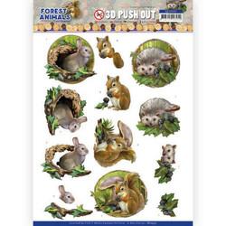Amy Design Forest Animals 3D-kuvat Rabbit