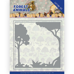 Amy Design Forest Animals stanssi Forest Frame