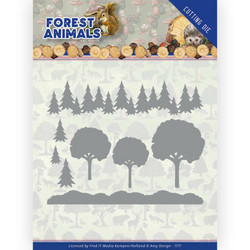 Amy Design Forest Animals stanssi In the Forest