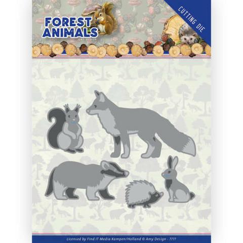 Amy Design Forest Animals stanssi Forest Animals 1
