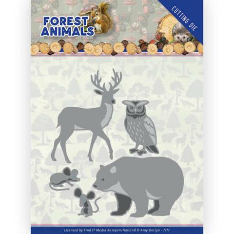 Amy Design Forest Animals stanssi Forest Animals 2