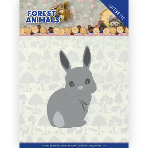 Amy Design Forest Animals stanssi Bunny