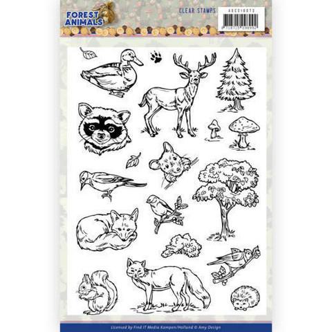 Amy Design leimasinsetti Forest Animals