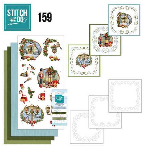Stitch and Do 158 pakkaus History of Christmas