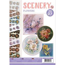 Push Out -kirja Scenery Flowers