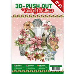 3D-Push Out -kirja Touch of Christmas