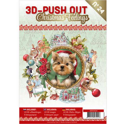 3D-Push Out -kirja Christmas Feelings
