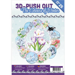 3D-Push Out -kirja The Colours of Winter