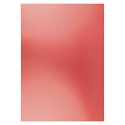 Card Deco Metallic -kartonki, sävy Christmas Red, A4, 6 kpl