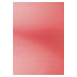Card Deco Metallic -kartonki, sävy Red, A4, 6 kpl