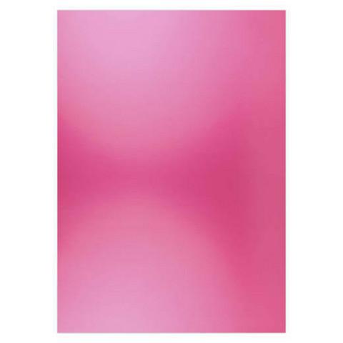 Card Deco Metallic -kartonki, sävy Bright Pink, A4, 6 kpl