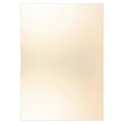 Card Deco Metallic -kartonki, sävy Champagne, A4, 6 kpl
