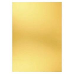 Card Deco Metallic -kartonki, sävy Warm Gold, A4, 6 kpl
