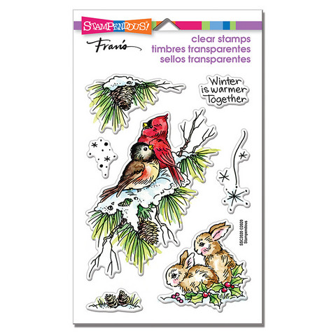 Stampendous leimasinsetti Birds And Bunnies