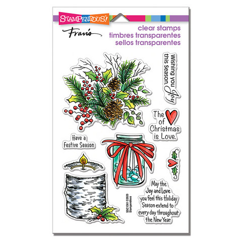 Stampendous leimasinsetti Festive Season