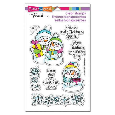 Stampendous leimasinsetti Snow Time