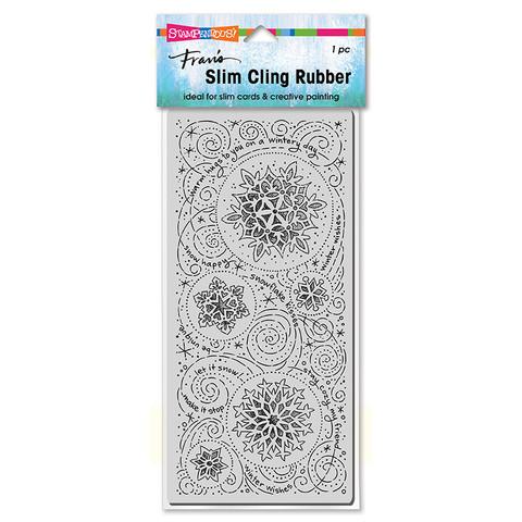 Stampendous Slim Snowflake Wishes -leimasin