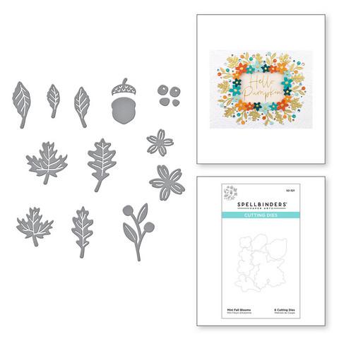 Spellbinders stanssisetti Mini Fall Blooms