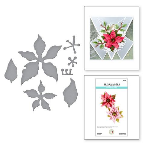 Spellbinders stanssisetti Poinsettia