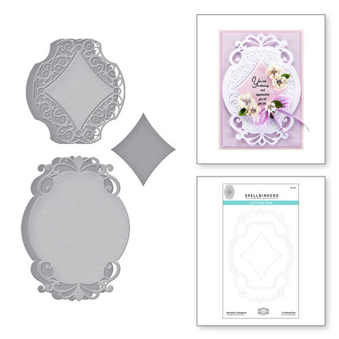 Spellbinders stanssisetti Romantic Chargeour