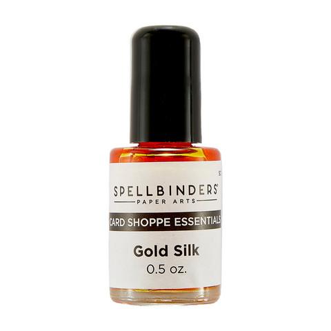 Spellbinders Gold Silk