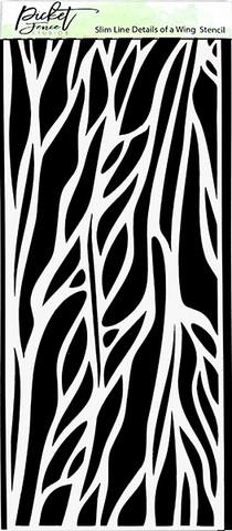 Picket Fence sapluuna Slimline Details of a Wing