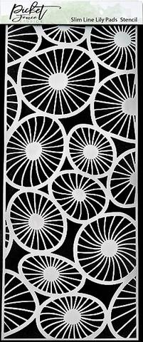 Picket Fence sapluuna Slimline Lily Pads