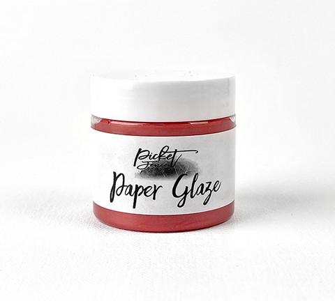 Picket Fence Paper Glaze, sävy Poinsettia Red