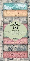 Paper Favourites Ephemera -paperipakkaus, Slim Line