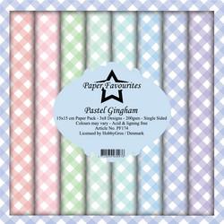 Paper Favourites Pastel Gingham -paperipakkaus