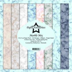Paper Favourites Marble Mix -paperipakkaus