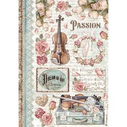 Stamperia riisipaperi Passion, Music