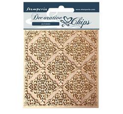 Stamperia Decorative Chips kuvioleikkeet Texture