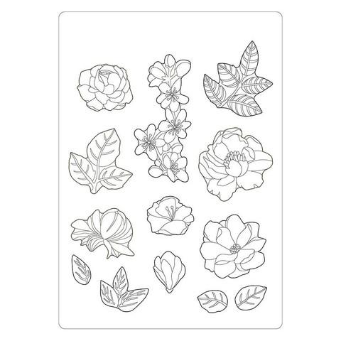 Stamperia Soft Mould -muotti Celebration Flowers, A5