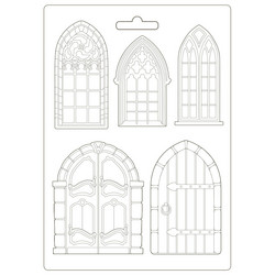 Stamperia Maxi Mould -muotti Doors and Windows