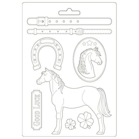 Stamperia Maxi Mould -muotti Standing Horse