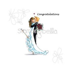 Stamping Bella Brett & Brenda Get Married -leimasinsetti
