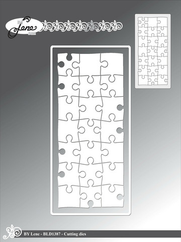 By Lene stanssi Mini Slimcard Puzzle