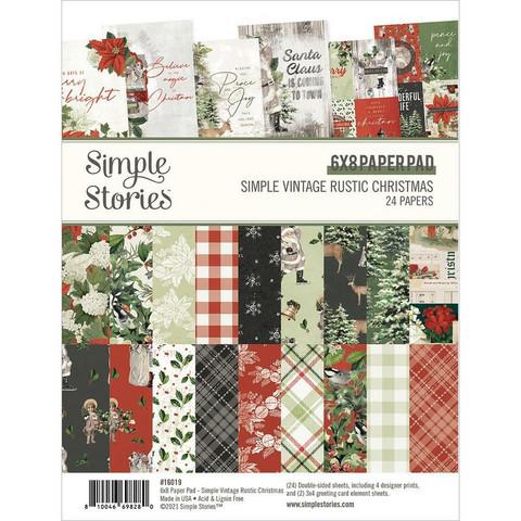 Simple Stories Simple Vintage Rustic Christmas -paperipakkaus