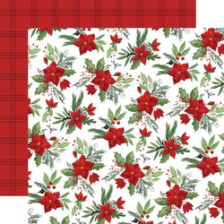 Carta Bella Home For Christmas skräppipaperi Fa La La Floral