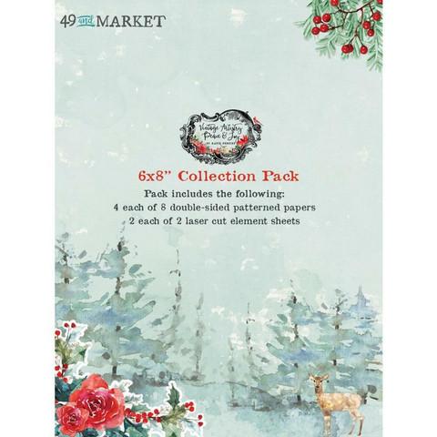 49 and Market paperipakkaus Vintage Artistry Peace & Joy