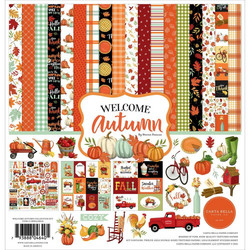 Carta Bella Welcome Autumn -paperipakkaus, 12