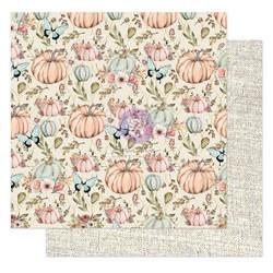 Prima Hello Pink Autumn -skräppipaperi Happy Fall