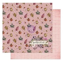 Prima Hello Pink Autumn -skräppipaperi Grateful Hearts