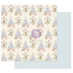Prima Hello Christmas Sparkle -skräppipaperi Christmas Greetings