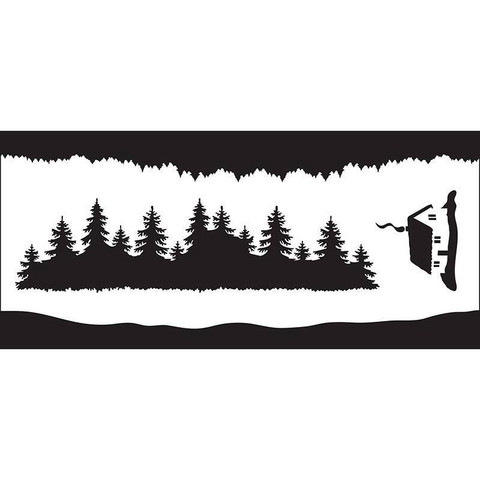 Creative Expressions sapluuna Forest Elements